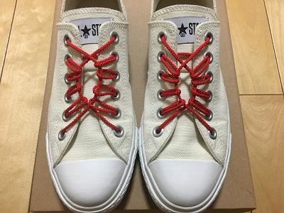 簡単な靴紐の通し方・結び方,『花びら結び』【おしゃれ